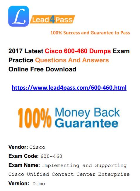 600-460 dumps