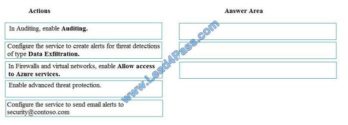 lead4pass dp-200 exam question q11