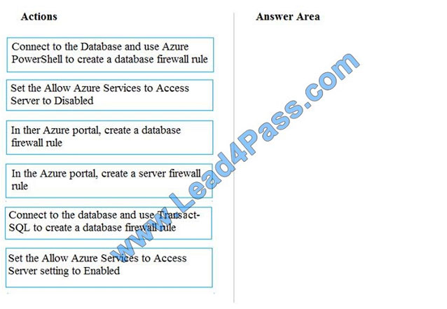 lead4pass dp-200 exam question q7